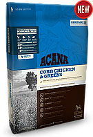 Acana Cobb Chicken & Greens корм для собак всех пород, 17 кг