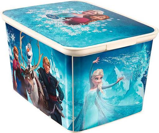 Ящик для хранения детский Frozen L, Curver 222329, фото 2