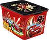 Ящик для хранения детский Тачки L, Curver 217720