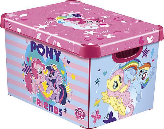 Ящик для хранения детский My Little Pony L, Curver 225542, фото 2