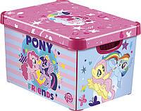 Ящик для хранения детский My Little Pony L, Curver 225542