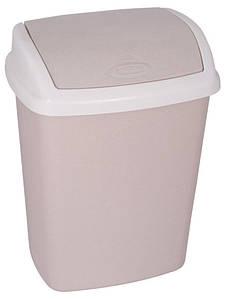 Ведро для мусора 25 л Dominik бежевое, Curver 182982