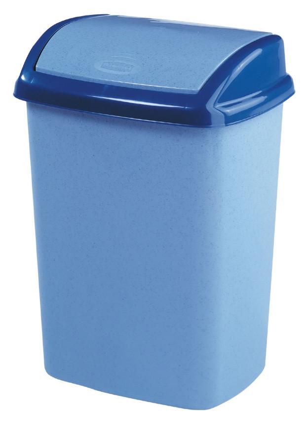 Ведро для мусора 25 л Dominik голубое, Curver 182980