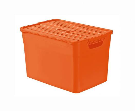 Ящик для хранения Pixxel оранжевый 12 л, Curver 214849, фото 2