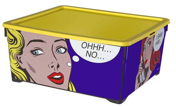 Ящик для хранения Комиксы, Curver 213773, фото 2