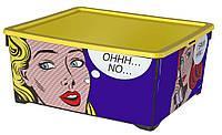 Ящик для хранения Комиксы, Curver 213773