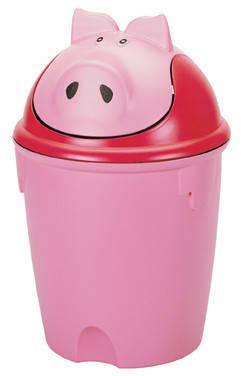 Корзина для мусора Свинка, Curver 155312, фото 2