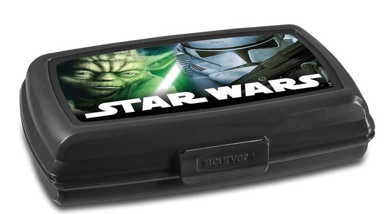 Коробка для хранения и завтраков STAR WARS 0,6 л, Curver 225503, фото 2