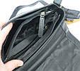 Кожаная сумка-плантешка среднего размера Always Wild С48.0163 черный, фото 10