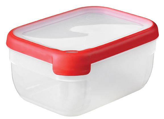 Емкость Grand Chef 1.8л прямоугольная красная, Curver (Польша), фото 2