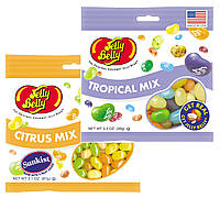 Набор конфет Jelly Belly Sunkist Citrus Mix и Jelly Belly Tropical Mix