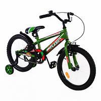 """Детский двухколесный велосипед Flash 18"""" T-21841 Green"""