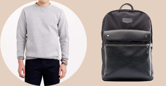Образ с лаковым рюкзаком