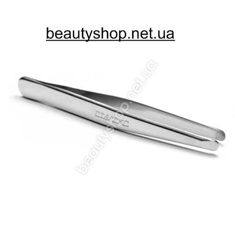 Пинцет Сталекс TBC-10/6 Beauty & Care 10 TYPE 6 (П-10) скругленный
