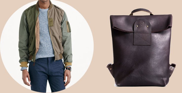 Дерзкий стиль в сочетании с рюкзаком