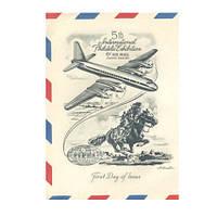 Оригинальная обложка на паспорт Обкладинка на паспорт airmail