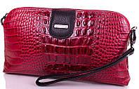 Красивый, модный женский кожаный клатч DESISAN (ДЕСИСАН) SHI06-1KR