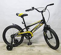 """Детский двухколесный велосипед Baby Tilly Flash 18"""" (T-21843)"""