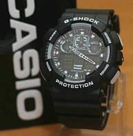 СПОРТИВНЫЕ ЧАСЫ CASIO G-SHOCK GA-100 BLACK-WHITE
