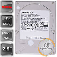 "Жесткий диск 2.5"" 1Tb Toshiba MQ01ABD100 (8Mb/5400/SATAII) б/у"
