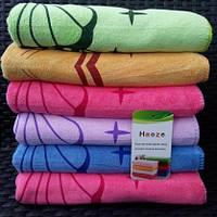 Красивые лицевые полотенца ярких цветов, фото 1