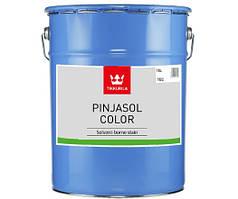 Антисептик для дерева Tikkurila Pinjasol Color (Пиньясол Колор) 18 л. (TEC база)