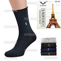 Мужские носки без резинки Nanhai A232. В упаковке 12 пар