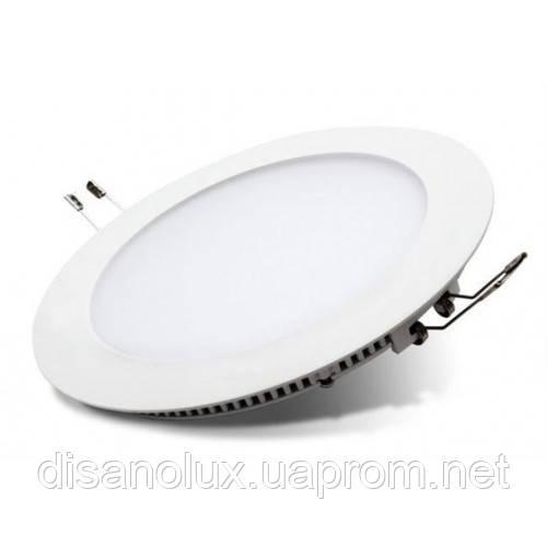 Светодиодный  светильник  Panel LED 18W  6500К (КРУГ)