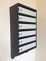 Ящики почтовые коллективные для для многоквартирных домов на 6 квартир