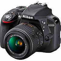 Nikon D3300 kit (18-55mm 55-200mm VR)