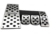 Накладки на педали  Toyota, МКПП