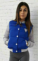 Куртка-бомбер женская| Электрик 46, 48 р-р, фото 1