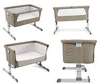 Кроватка детская Chicco Next2me Dove Grey 0м+, фото 1