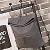 Молодежная сумка-рюкзак из экокожи, фото 6