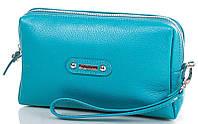Красивый, модный женский кожаный клатч DESISAN (ДЕСИСАН) SHI05-14FL