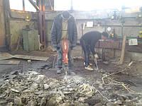 Демонтаж бетонных и железобетоных промышленых полов, перекрытий, фундаментов