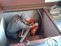 Алмазное сверление отверстий под углом от 18 мм до 400 мм
