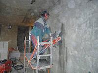 Алмазная резка больших проемов в панельных домах с двойным уселением