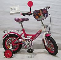 Велосипед TILLY Русалка T - 21221 crimson + white