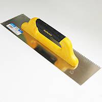 Полутерок зубчатый 120 х 400 мм.(пластиковая ручка) Dekor 223
