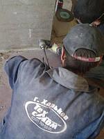 Алмазная резка штроб под кабель. Сверления отверстий под розетки.