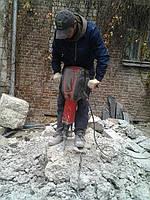 Демонтаж фундаментных блоков