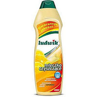 Чистящее молочко Ludwik  лимонное / 300 г / 6 уп /