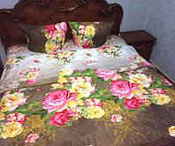 Постельное белье цветочное