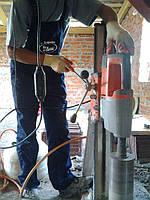 Алмазное сверление бетона без пыли