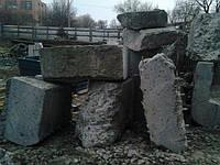 Демонтаж фундаментов (любой степени армирования и марки бетона)
