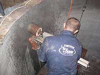 Алмазное сверление отверстий в очистных сооружениях в (радиальных плоскостях)