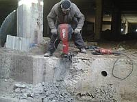 Демонтаж бетона техникой и ручным оборудованием, фото 1