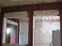 Резка проемов в стенах перекрытиях. Усиление металлом, перепланировка квартир, оформление перепланировок.