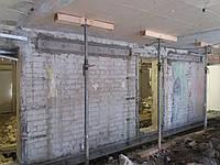 Алмазная резка не стондартных проемов в Харькове в кирпичных стенах
